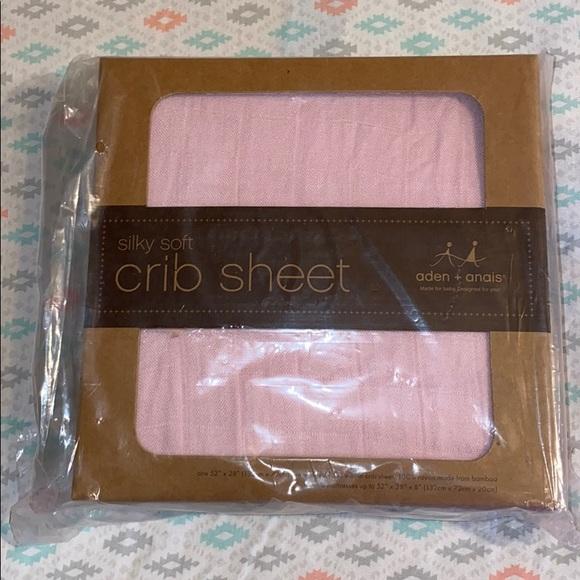 Aden and Anais crib sheet